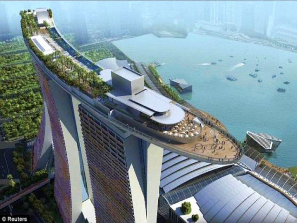 Collection of few architectural marvels from all around for Tallest hotel in singapore