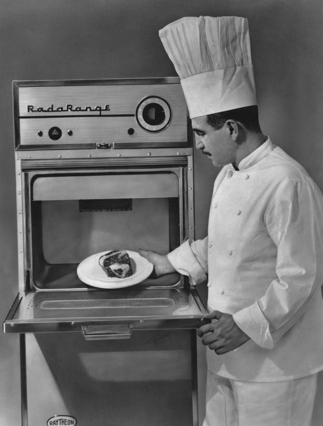 invention of the microwave oven Microwave ovens were invented by accident by an engineer named percy  spencer when a chocolate bar in his pocket melted while building magnetrons  for.